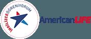 American LIFE İzmir Alsancak İngilizce Almanca Rusça Yabancı Dil Kursu Logo