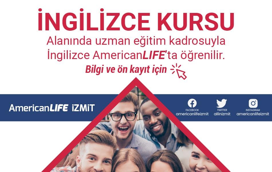 American LIFE İzmit İngilizce Kursu Fiyatları