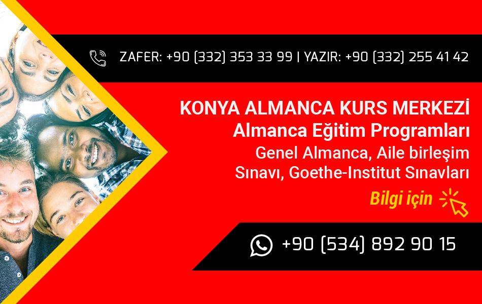 American LIFE Konya Almanca Kursu
