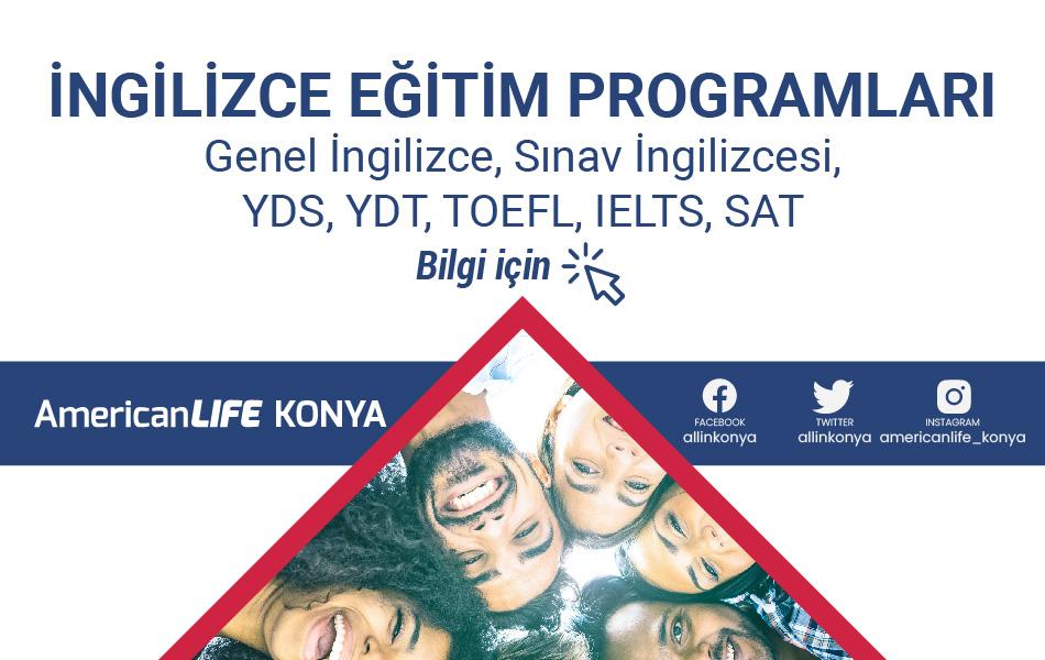 American LIFE Konya İngilizce Kursu